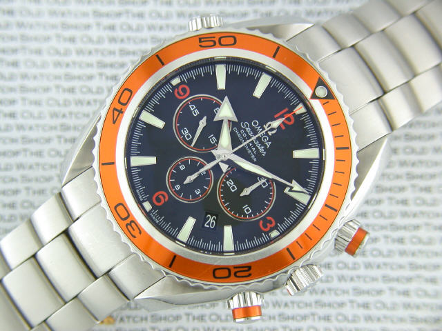 Omega Seamaster Planet Ocean 600m Co-Axial Master