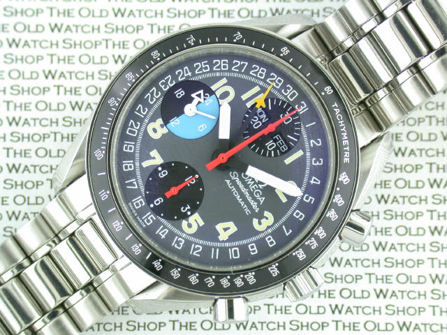 Omega Speedmaster Triple Date Chronograph Omega Speedmaster Triple
