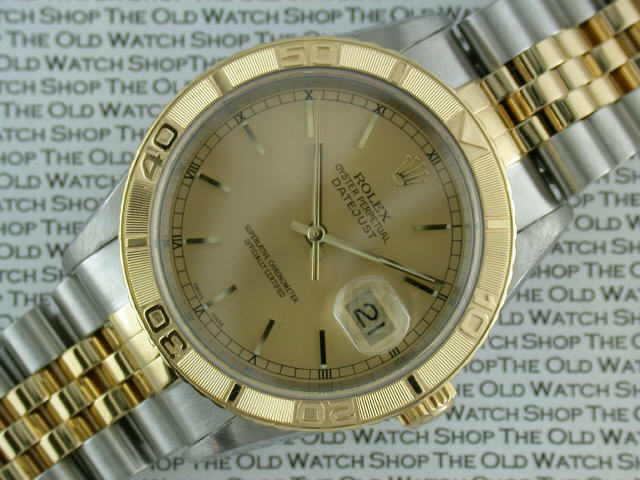 aaaa373a391 ROLEX  Gent s 18ct gold and stainless steel Rolex Oyster Perpetual Datejust  Turnograph Chronometer bracelet watch