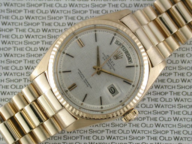 Rolex Watches At The Old Watch Shop Uk
